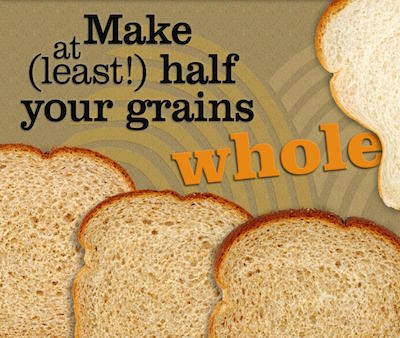 choose whole grains bread