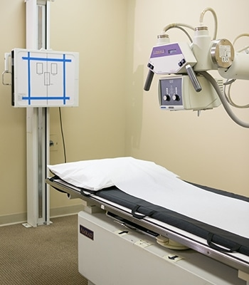 X-ray machine at Care Medical Group Urgent Care